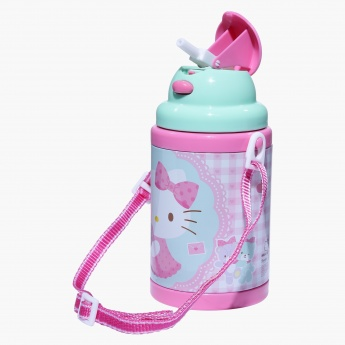 Hello Kitty Printed Water Bottle