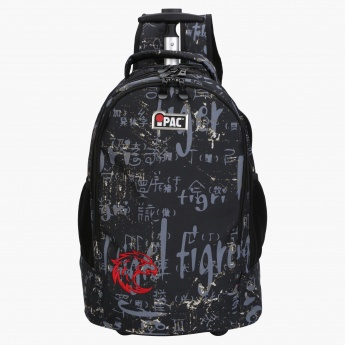 iPAC Printed Trolley Backpack