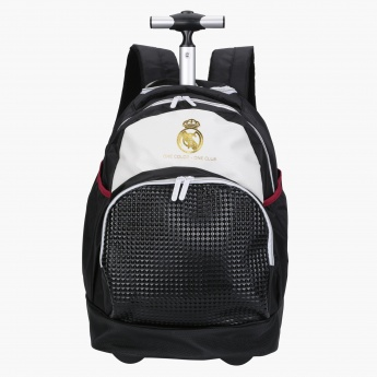 Real Madrid Printed Trolley Bag