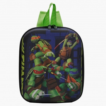 Ninja Turtles Print Lunch Bag with Dual Straps