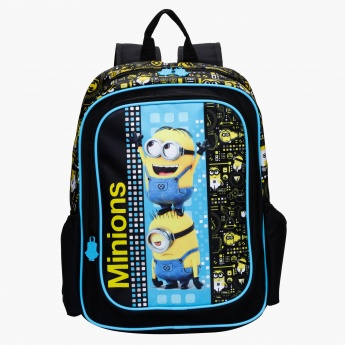 Minions Print Backpack
