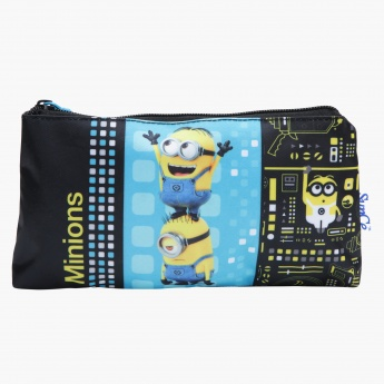 Minions Printed Rectangular Pencil Case