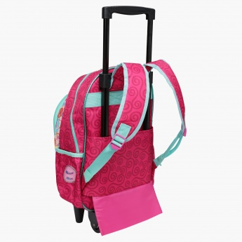 Shimmer and Shine Printed Trolley Backpack