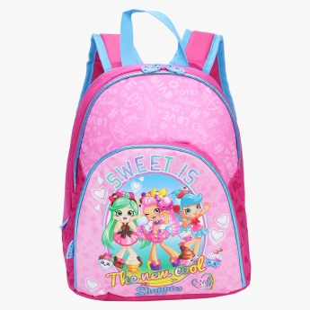 Shopkins The New Cool Shoppies Printed Backpack  263094aab7775