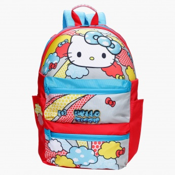 Hello Kitty Print Backpack