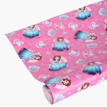 Sofia the First Printed Wrapping Paper