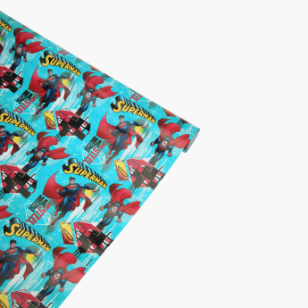 Superman Printed Gift Wrapping Paper