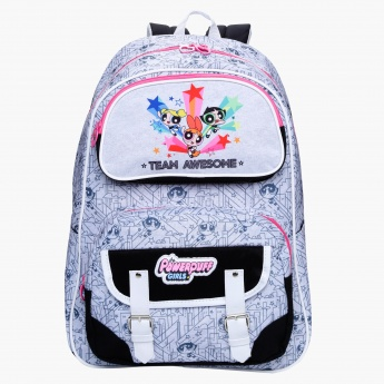PowerPuff Girls Print Backpack