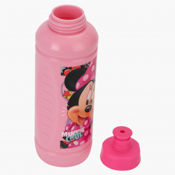 Minnie Mouse Print Sipper Water Bottle