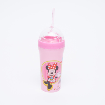Minnie Mouse Printed Tumbler with Straw