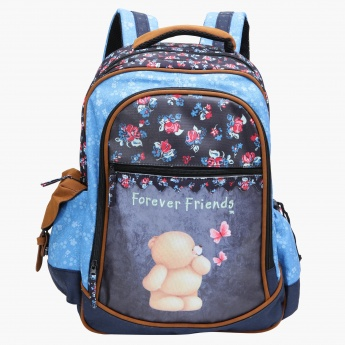 Forever Friends Printed Backpack