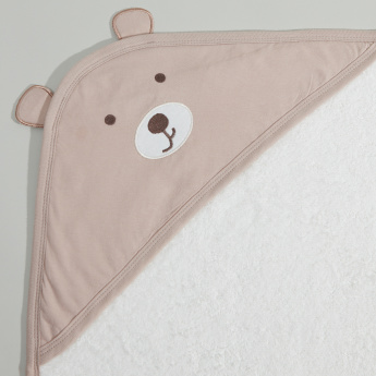 Juniors Hooded Towel with Applique – 75x90 cms