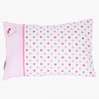 Juniors Kitty Printed Pillow