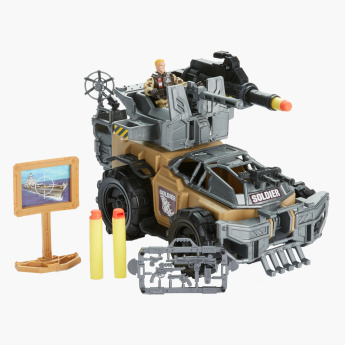 Soldier Force 9 RhinoDasher Vehicle Playset