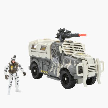 Soldier Force 9 Snow Leopard Vehicle Set