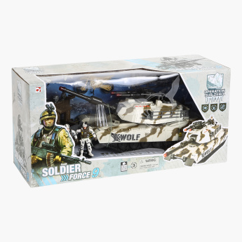 Soldier Force 9 Destroyer Playset