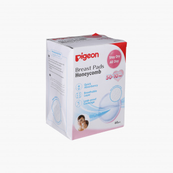 Pigeon Honey Comb Breast Pad - Set of 6