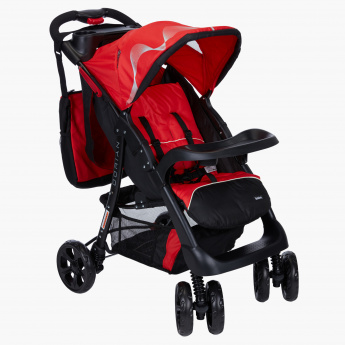 Juniors Printed Stroller with Canopy