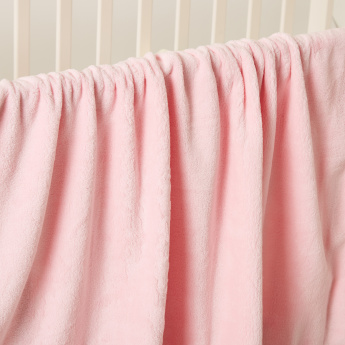 Minnie Mouse Embroidered Blanket with Hood – 78x95 cms