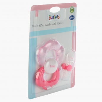 Juniors Water Filled Teether with Holder