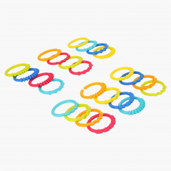 Bright Starts 24-Piece Linking Ring Set