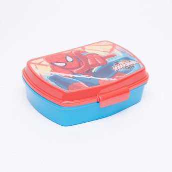 Spider-Man Printed Sandwich Box with Flip Open Lid