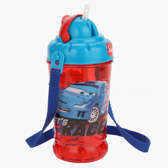 Cars Print Water Bottle