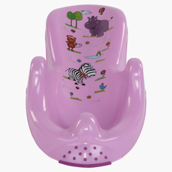 Diaper Keeper Printed Baby Bath Chair