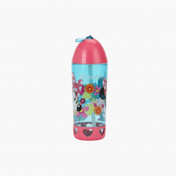 Minnie Mouse Print Water Bottle