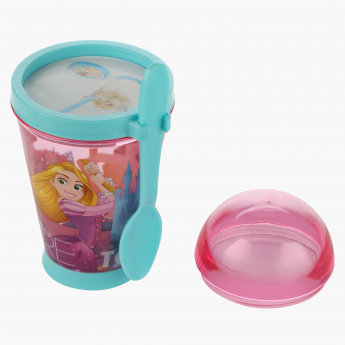 Princess Print Snack Container