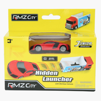 RMZ 1:64 Scania Truck Launcher Toy Playset