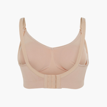 Bravado Seamless Bra with Adjustable Spaghetti Straps - L