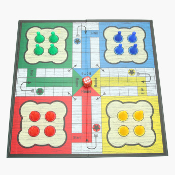Juniors Deluxe Game Ludo Playset