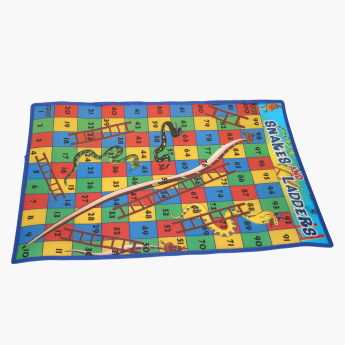 Juniors Snakes And Ladders Carpet
