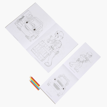 Bob The Builder Colouring Book Play Pack