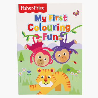 Fisher-Price Colouring Book