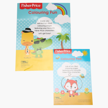 Fisher-Price Colouring Book - Set of 2