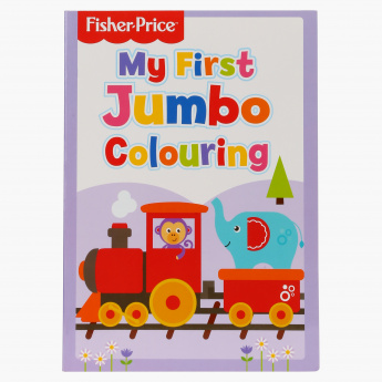 Fisher-Price My First Jumbo Colouring Book