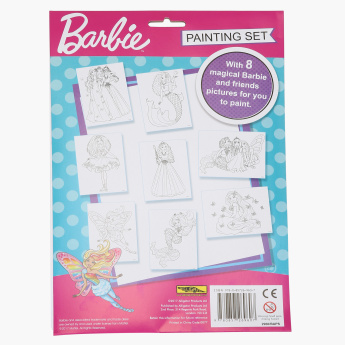 Barbie Magic Colour Painting Set