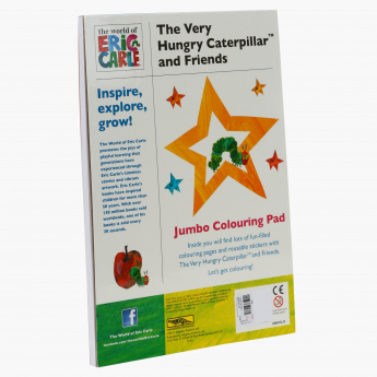 The Very Hungry Caterpillar and Friends Colouring Book