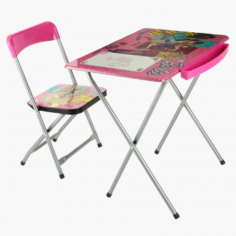 Barbie Printed Table and Chair Set  sc 1 st  MothercareStores.com & Barbie Printed Table and Chair Set | Tables u0026 Chairs | Furniture ...