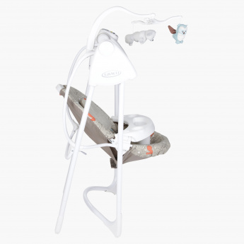 Graco Cradle with Timer and Toys