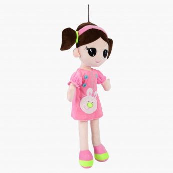 Juniors Rag Doll with Bunny Applique