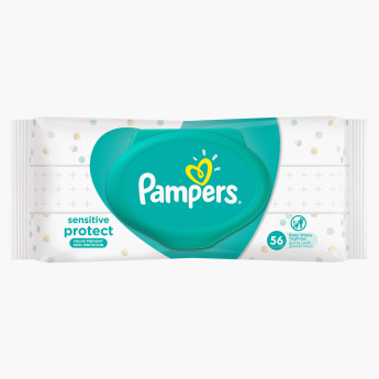 Pampers Sensitive Baby Wipes - 64 Pieces