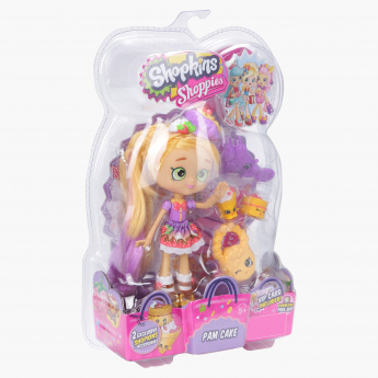 Shopkins Shoppies 2-Piece Pam Cake with Doll