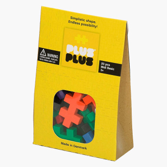 Plus-Plus 20-Piece Blocks Playset