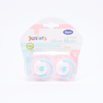 Juniors Silicone Soother - Set of 2