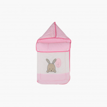 Juniors Embroidered Nest Bag with Hood