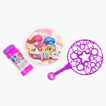 Shimmer and Shine Printed Bubble Wand Set