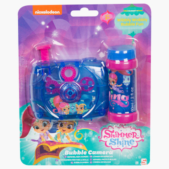 Shimmer and Shine Printed Bubble Camera